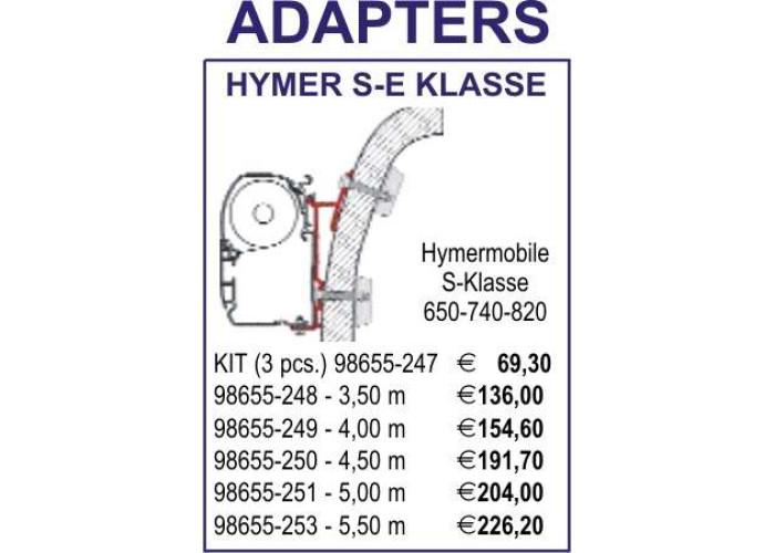 Адаптер Hymer S-E Klasse 400 Fiamma