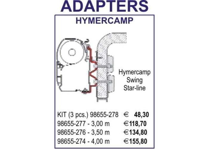 Адаптер HymerCamp 350 Fiamma