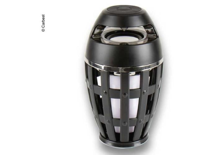 Світлодіодна кемпінгова лампа з динаміком Bluetooth - Carbest