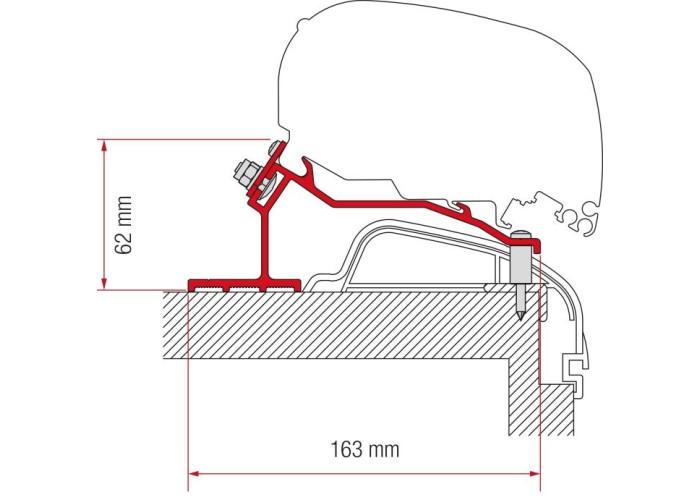 Перехідник для тентів F80s-F65LKit Hobby Premium Ontour Fiamma