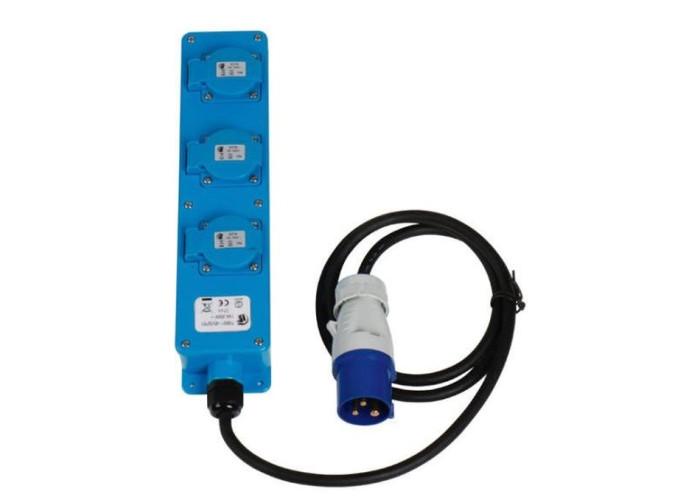 Подовжувач - CEE 230V 1,5 м 3x1,5 мм смужка