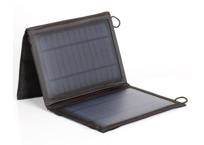 Solar 7W портативна сонячна панель USB - Carbest