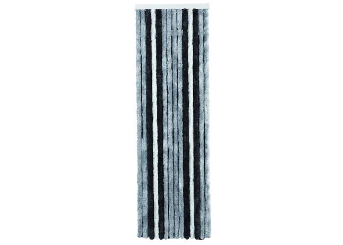 Завіса для дверей Acapulco 205 х 56 см сірий/антрацитовий/чорний